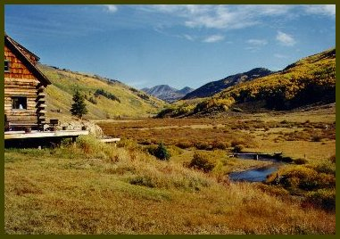 Merveilleux Colorado Cabin Rentals In The Fall